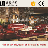 Italian Style Luxury Home Furniture Modern Wooden Sofa Design