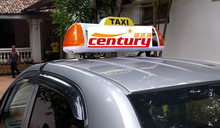high quality led taxi advertising display sign
