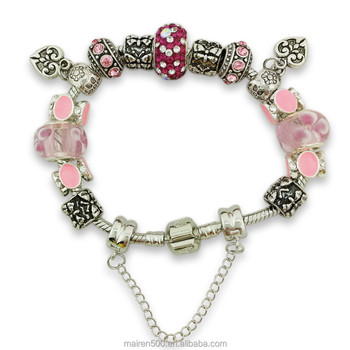 MNP131 national jewelry cham bead bracelet for costume