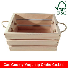 Yuguang Crafts Handmade Feature Cheap Wooden Crate Box