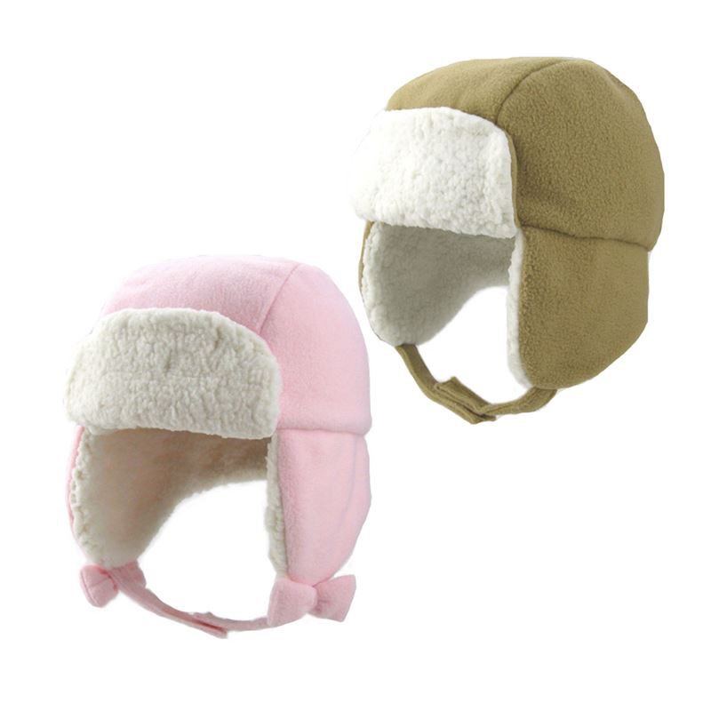 Winter Unisex Warm Faux Fur Kids Ski Hat Cap Russian Ushanka For Children Leifen Cap