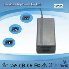5V 4A,6V 4A,7.5V 3.2A,8V 3A,12V 2A, 16V 1.5A 24V 1A,24W/ power ac adapter/desktop adapter