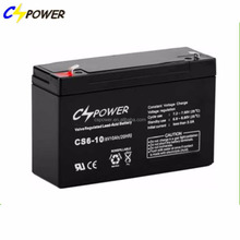 lead acid battery 6v 10ah for ups / alarm/ emergency light