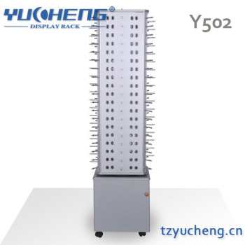 [YUCHENG] Rotating Eyewear Floor Display With Cabinet Y502