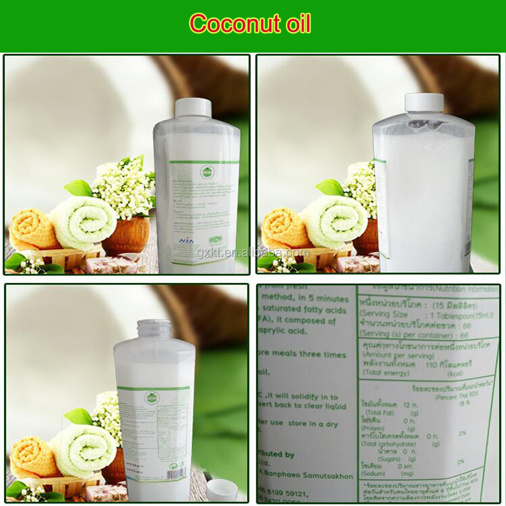 Thailand Natural Cold Press Extra Virgin Coconut Oil in Bulk
