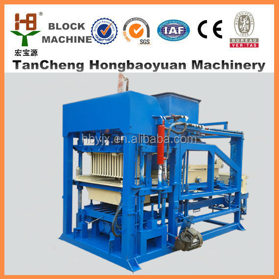 QTJ4-18 hollow paver automatic moulding line