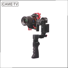 China Came-Optimus video dslr Camera Handheld 3 Axis Gimbal Stabilizer for BMPCC Panasonic GH4 S ony A7r/A7s