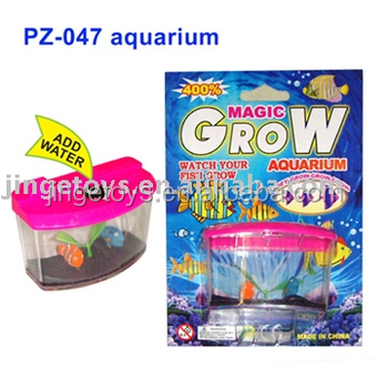 Growing fish tank toys buy water growing fish toys for Toy fish tank