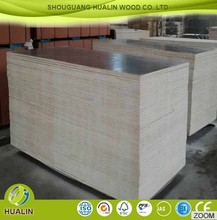 shuttering construction timber wood popular brown/black film faced plywood 18mm 21mm marine plywood