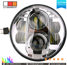 high quality motorcycle led driving head lights