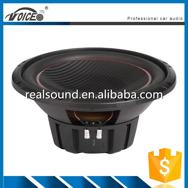 12 inch single magnet bass box woofer for car