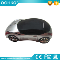Blue Color Wireless Ferrari Car Shape