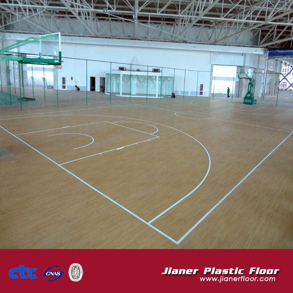 Acrylic Acid Indoor Basketball Court Flooring