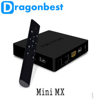 2016 New arrivals MINI MX tv box Amlogic S905 kodi4.2 Android 5.1 Lollipop Ethernet 10/100M/1000M new year gift