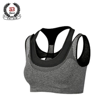 Wholesale custom ladies sexy bra backless fitness yoga sexy sports bra pants set