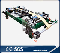 Enameled aluminum foil winding machine