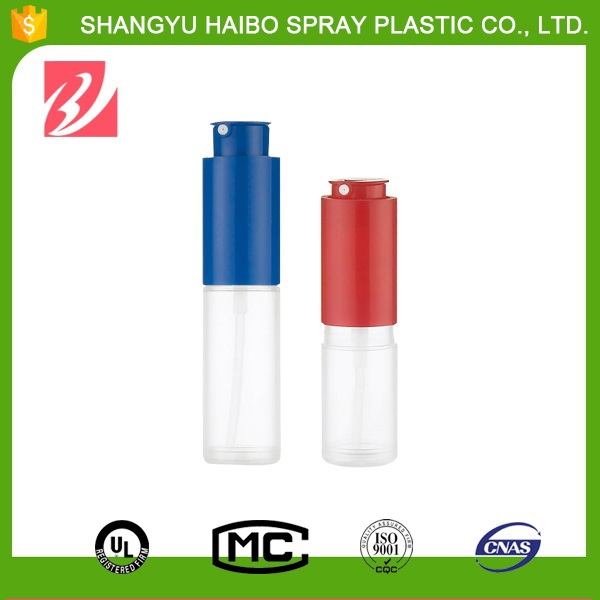 Hot selling Convenient silk screen prting transparent whisky bottle plastic cap