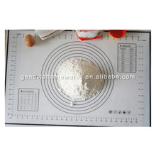 FDA&LFGB approved reusable silicone rubber baking oven mat with great price