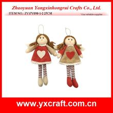 Christmas decoration (ZY17Y098-1-2 27CM) holiday time christmas girl