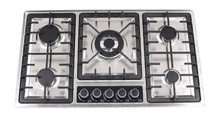 Built-in 5 Burners Stainless steel Gas hob/Gas stove/Gas cooker