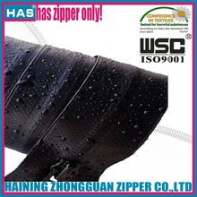 Heavy Duty Long Chain Water Proof Nylon Zipper for wholesale, Water Proof Zipper, WaterProof Zipper