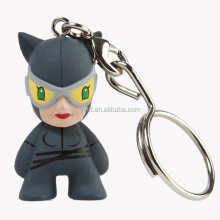 Promotional gift plastic injection 3D anime figure keychain