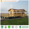 2013 new domestic popular wooden house with big terrace