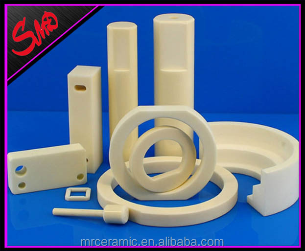 Good Mechanical Strength Alumina Al2O3 Ceramic Parts Components in Automotive Petro Chemical