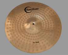 Hot selling b8 material medium ride cymbal from china manufacturer Tongxiang