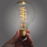 220V 40W Clear Decorative Filament e27 vintage lamps antique light bulbs for sale
