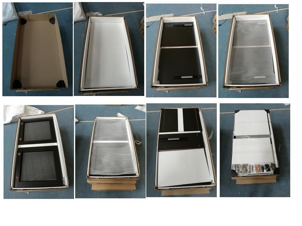 고광택 최고 품질 현대 합판 모듈 형 부엌 캐비닛 - Buy Product on ...