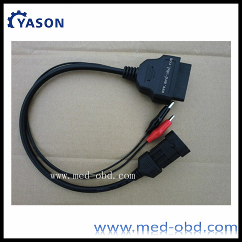 16pin OBD2 Adapter OBD2 Cable for Audi 2x2