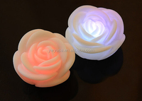 2016 alibaba popular LED flash flower glowing emulated rose products