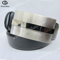 customized leather belt for man apparel accessories ZINC ALLOY