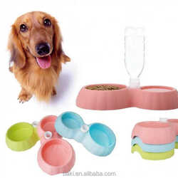 Plastic Dog Water Bottle Pet Food Bowl Dog Bowls Pet Feeders