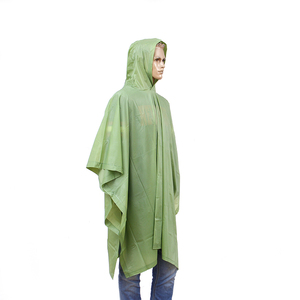 Promotional Customized PE PEVA EVA PVC Reusable Rain Poncho ef31436f4c1a
