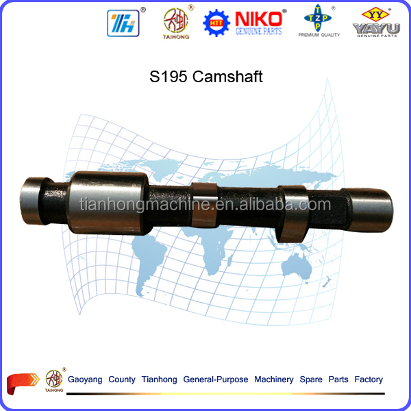 model S195 diesel engine spare parts camshaft