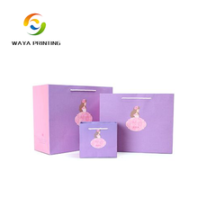 Customized printing your own logo christmas gift paper bags