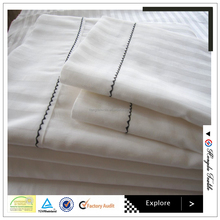 100% cotton hotel textile Bedsheets Bed Sheets set hand work wholesale
