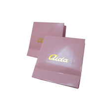 custom pink bag gift paper bag without handle