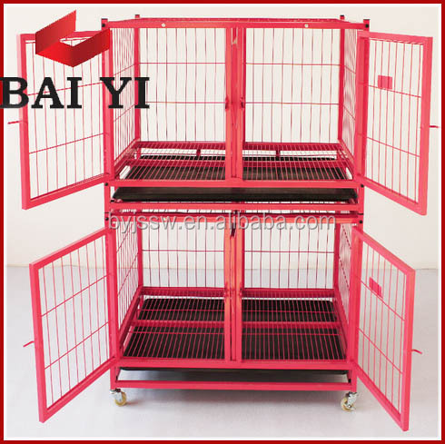 Double Tier Double Door & Single Door Dog Cage Hot Sale in USA