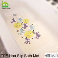 color changing waterproof bath mat