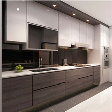 Assemble pack guangzhou kitchens from prima kitchen furniture prefab kitchen countertops
