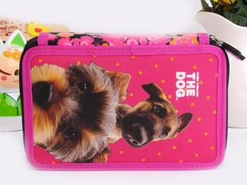 dog design stationery case