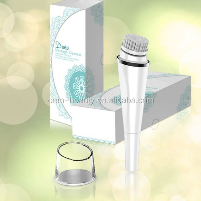 Electric facial cosmetic cleaner,face skin cleaning brush with best design -JTLH-1501