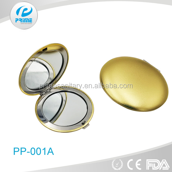 Factory in Guangdong cheap small size hand pocket mirror
