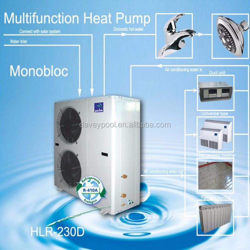 Davey Industrial Air Source Heating Pump Swimming Pool Heat Exchanger Buy Heat Exchanger