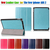 2014 new products High Quality Luxury Flip Leather Case for Apple iPad Air 2, case for ipad6