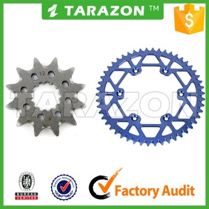 Light Weight Aluminum Motorcycle Front and Rear Sprocket