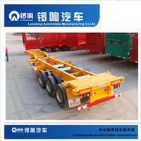 Factory Direct Supply Tri Axle Container